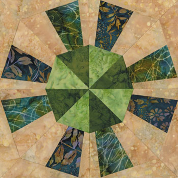 Austin's Beauty Quilt Block Pattern
