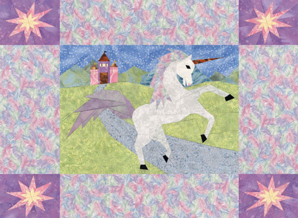 Unicorn Dreams Paper Pieced Quilt Pattern