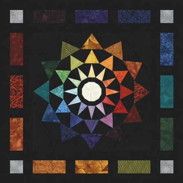Refracted Light Paper Pieced Quilt Pattern