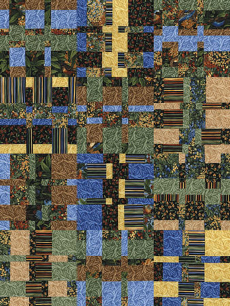 Fall Tapestry Paper Pieced Quilt Pattern