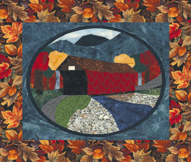 Country Road Paper Pieced Quilt Pattern