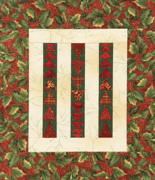 Christmas Geese Paper Pieced Quilt Pattern