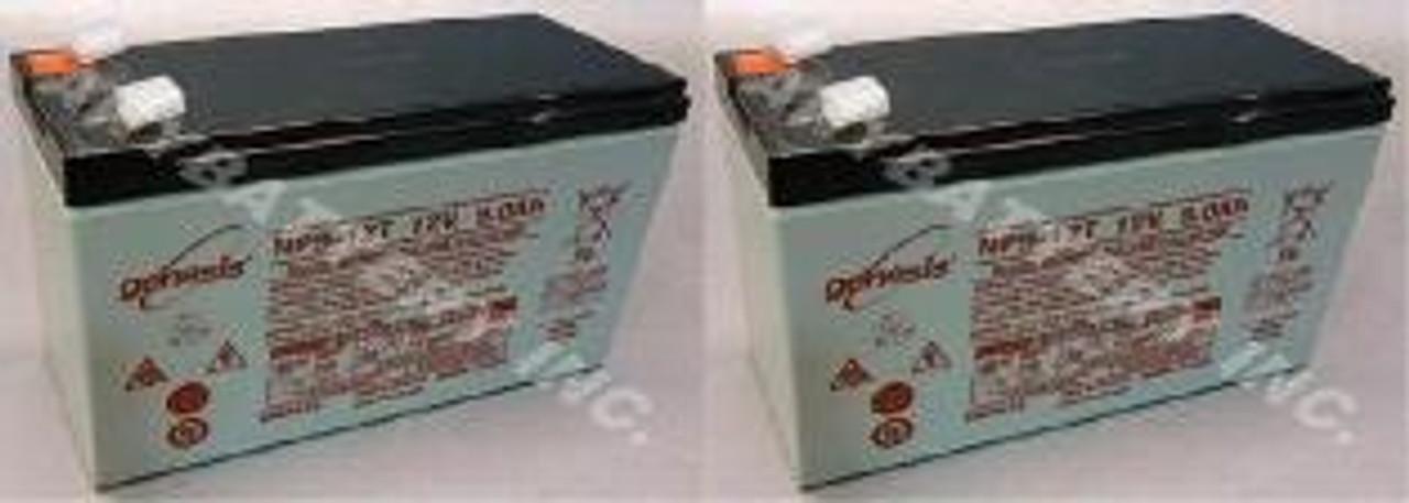 2-Battery Set