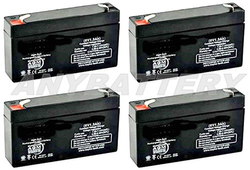 Item 1213-4 is a 4-Battery Set