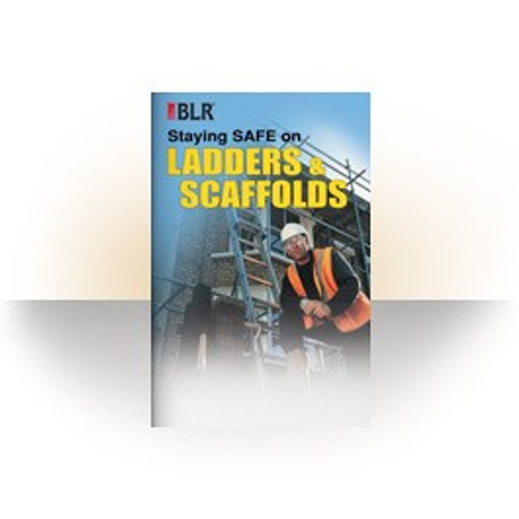 Staying Safe on Ladders and Scaffolds (Booklets / 25 Pack)