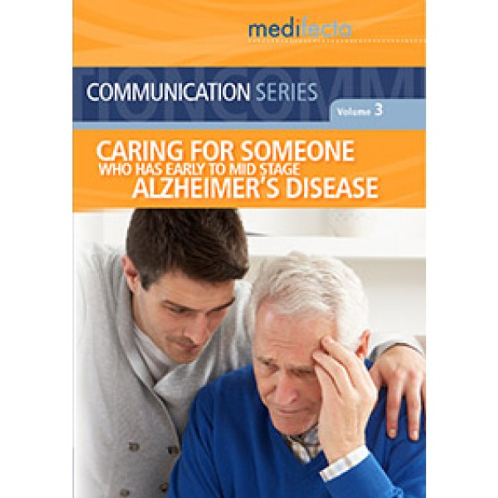 Caring for Someone with Early to Mid Stage Alzheimer's DVD
