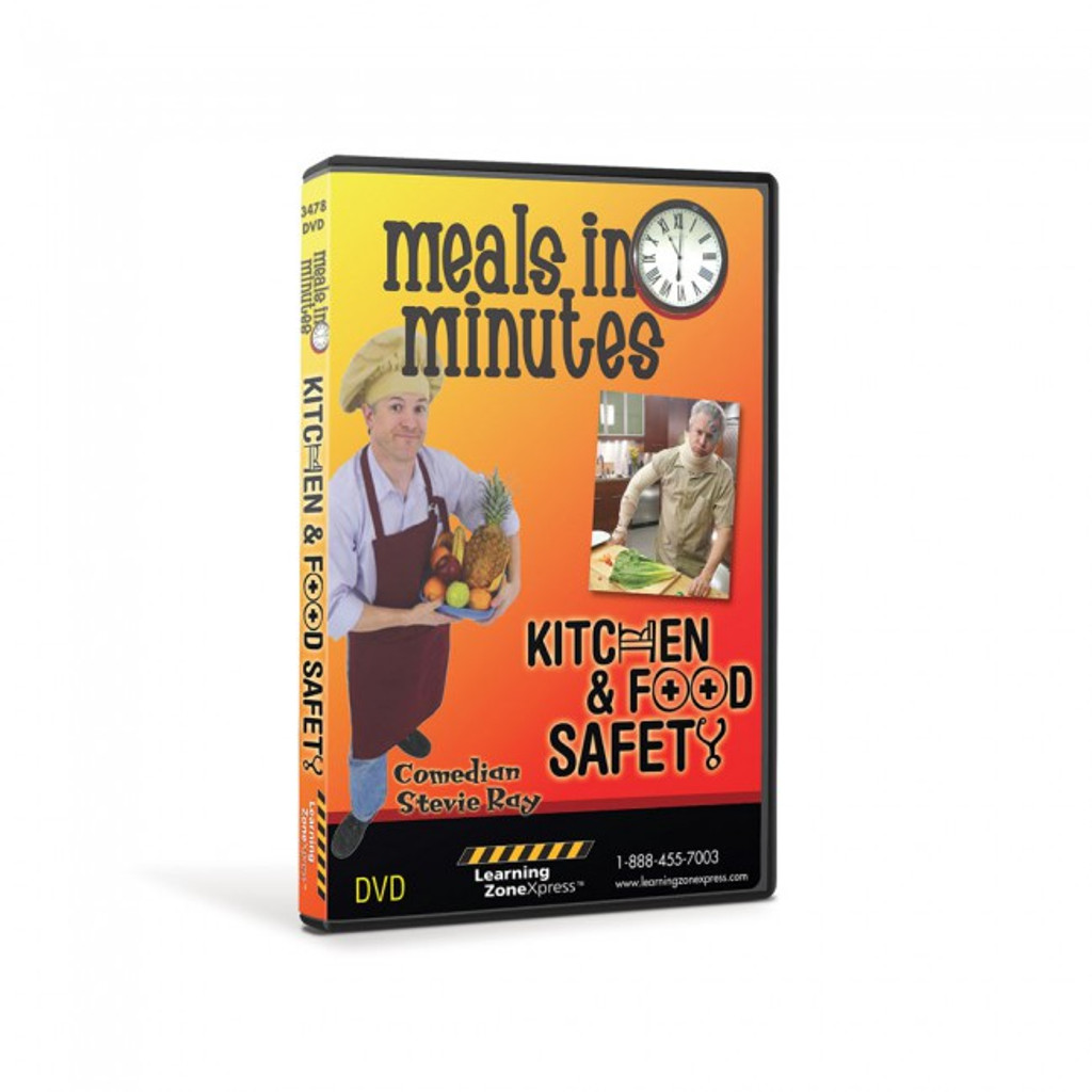 Meals in Minutes: Kitchen & Food Safety DVD