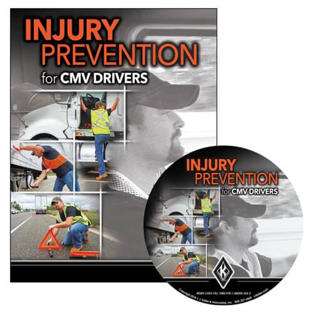 Injury Prevention for CMV Drivers - DVD Training