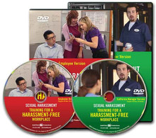 Sexual Harassment: Training for a Harassment-Free Workplace, Combo Video — Employee/California Manager Package