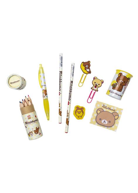 Rilakkuma™ Pencil + Pen Stationery Set