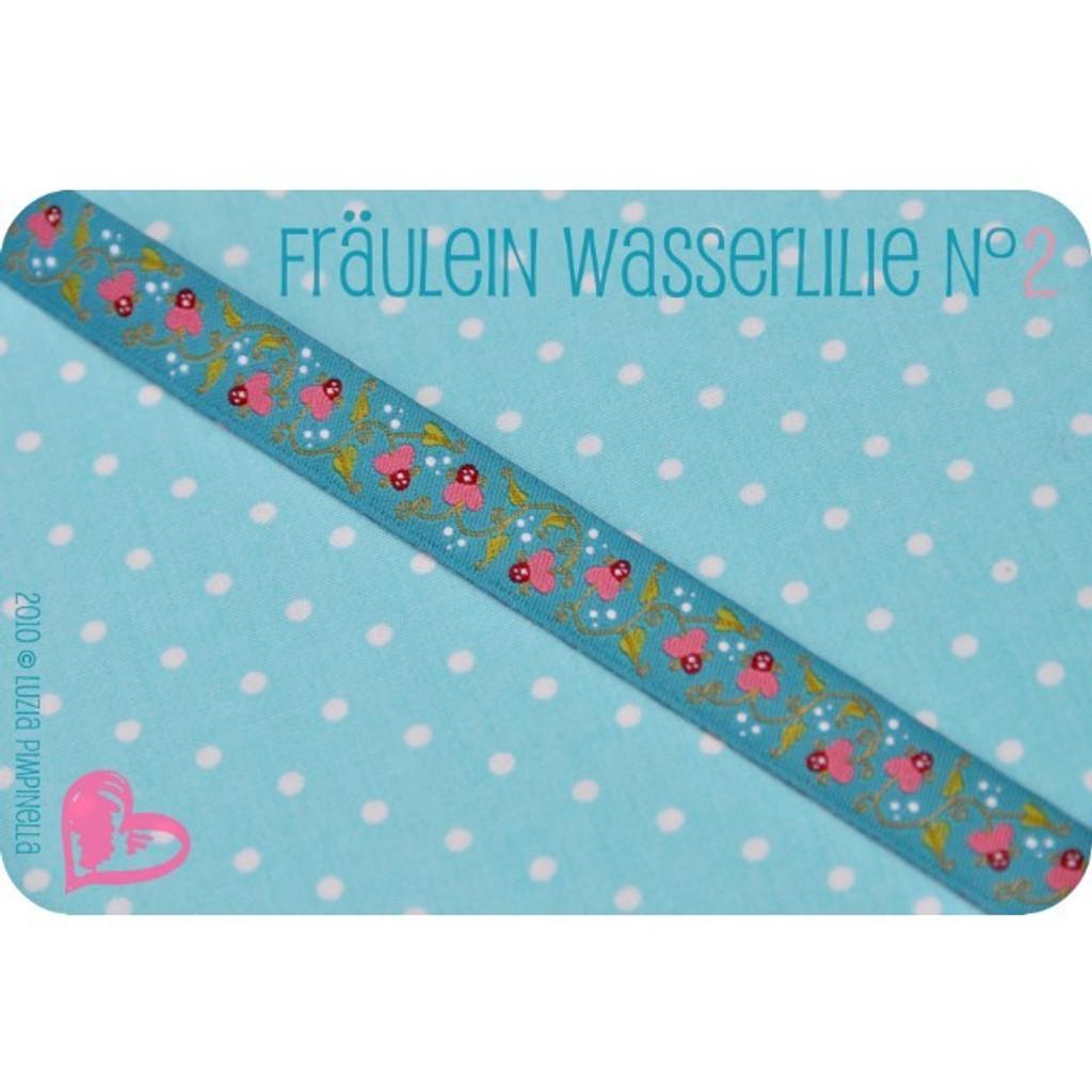 Fräulein Wasserlilie N°2: Farbenmix ribbon