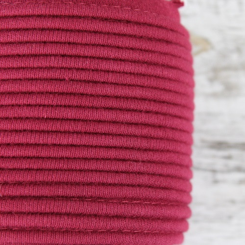 Cotton Knit Piping:  Brick Red