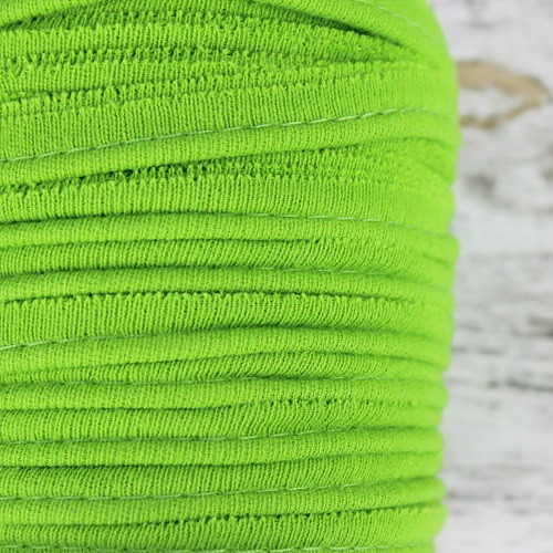 Cotton Knit Piping:  Pear