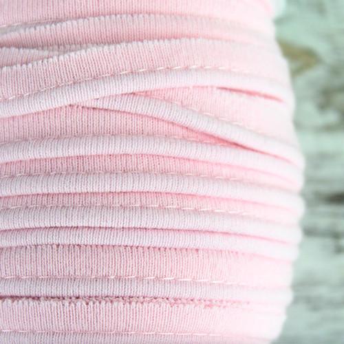 Cotton Knit Piping:  Light Pink