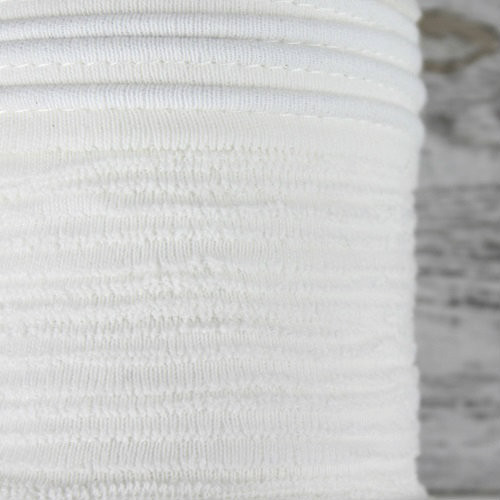 Cotton Knit Piping:  Off White