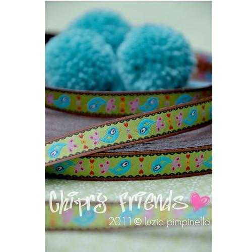 Chirpy Friends: Farbenmix ribbon