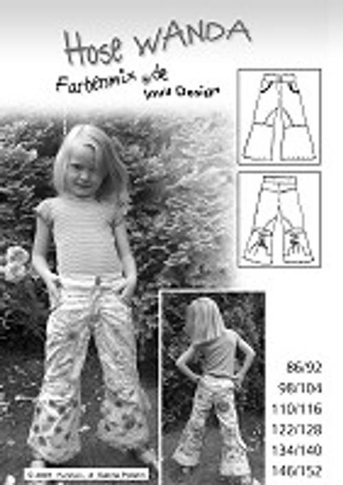 Make something great with the fabric from our online fabric store! WANDA is a great pants pattern for only $12