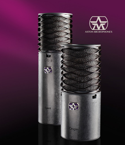 ASTON MICROPHONES - New UK made Studio mics arriving in December