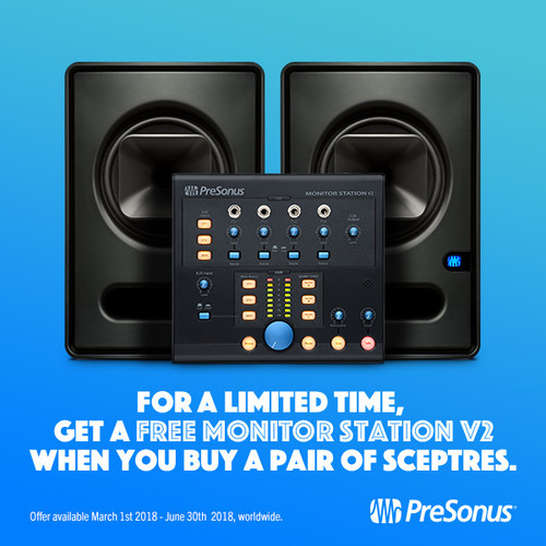 FREE Monitor Station V2 with SCEPTRE