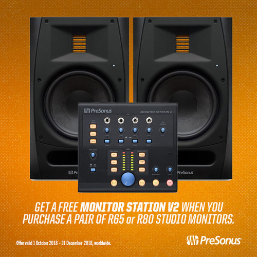 FREE Monitor Station V2 with R Series