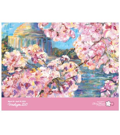2018 Official National Cherry Blossom Festival Poster (Unframed)