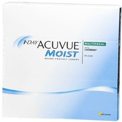 1 Day Acuvue Moist Multifocal 90 pack Front
