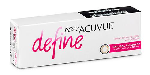 1 - Day Acuvue Define - Natural Shimmer - 30 Pack Front