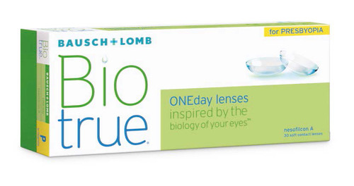 Biotrue ONEday for Presbyopia - 30 Pack - Front