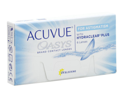 Acuvue Oasys for Astigmatism - 6 Pack Front