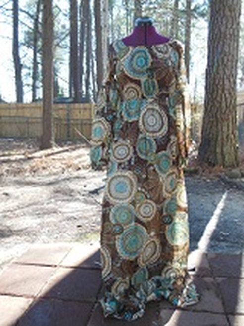 Little Mary Jane Long Dress (small)