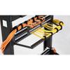 Kendall Howard 0300-1-002-00 - Hook and Loop Cable Ties - 10 Pack