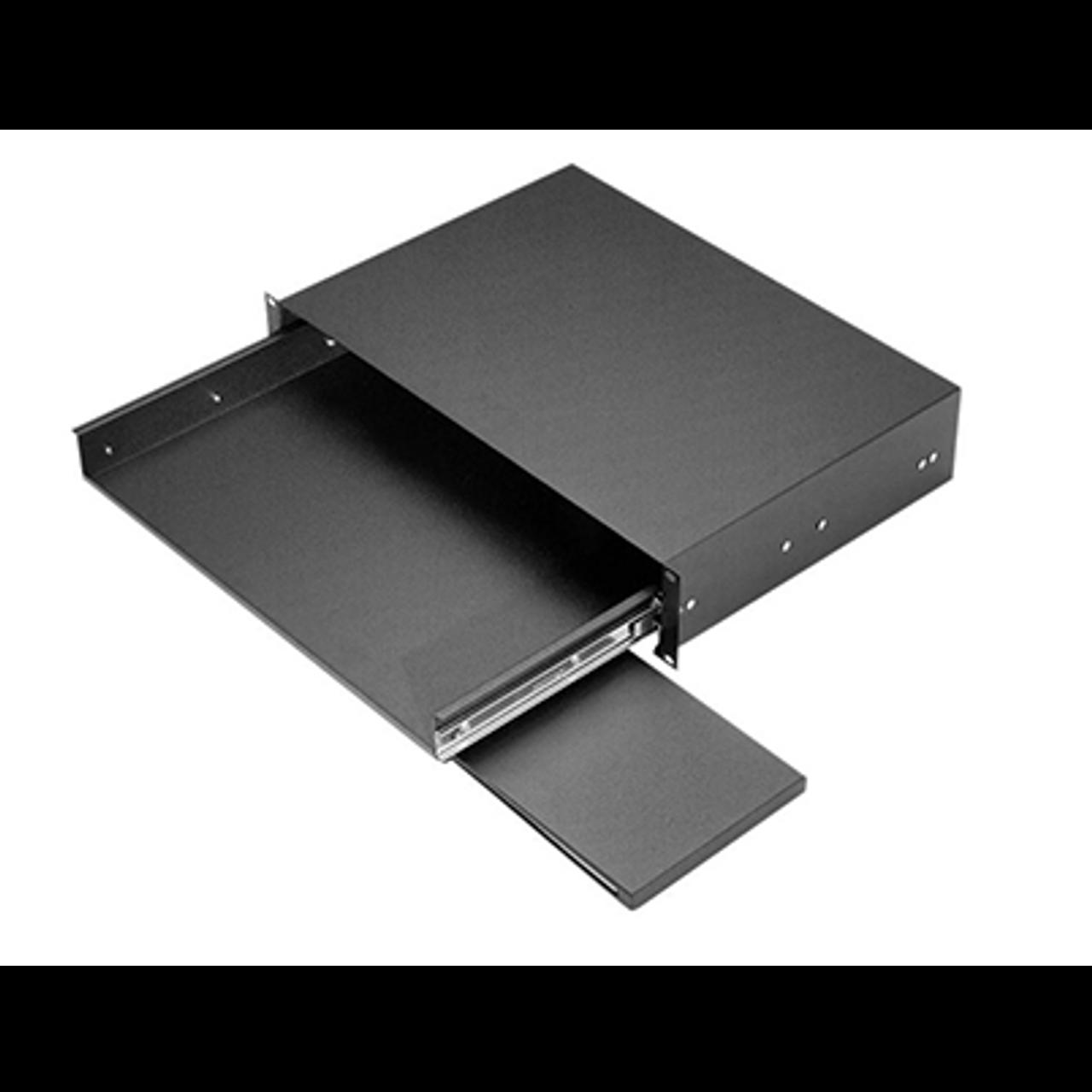 keyboard shelf rack mount drawer rackmount solutions. Black Bedroom Furniture Sets. Home Design Ideas