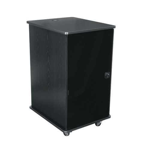 16u Portable Rack   Ebony
