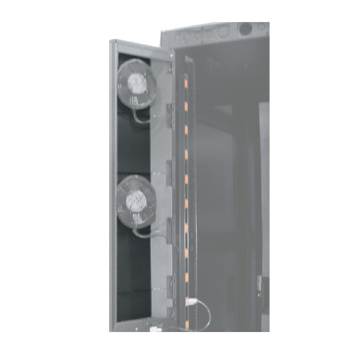 MWCFRD-1/2PNL-45 | Middle Atlantic | 45u Fan Door Panel