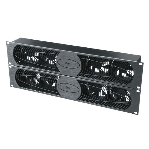 100 CFM 30 dB Fan Panel Anodized