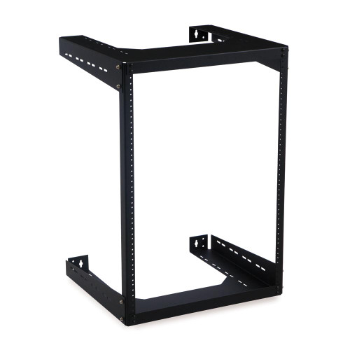 KH-1915-3-500-15 | 15u Open Frame Wall Mount Rack