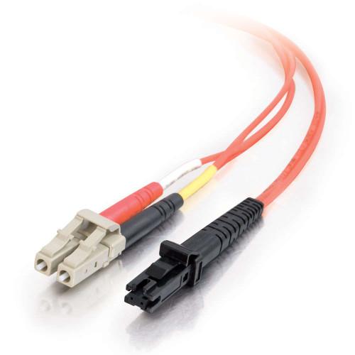 5m MTRJ-LC 62.5/125 OM1 Duplex Multimode PVC Fiber Optic Cable - Orange