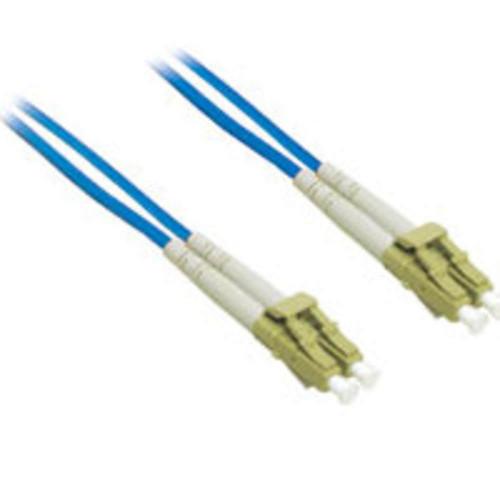 3m LC-LC 62.5/125 OM1 Duplex Multimode PVC Fiber Optic Cable - Blue