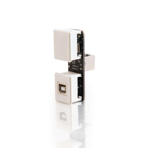 C2G-29349 | USB 1.1 Over Cat5 Superbooster Extender Keystone Insert Transmitter