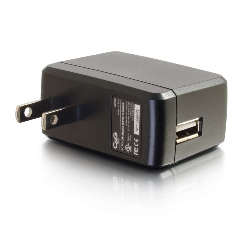 AC to USB Mobile Device Charger, 5V 2A Output