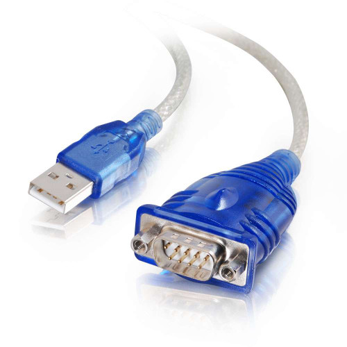 1.5ft USB to DB9 Serial RS232 Adapter Cable