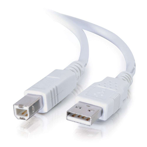 5m USB 2.0 A/B Cable - White