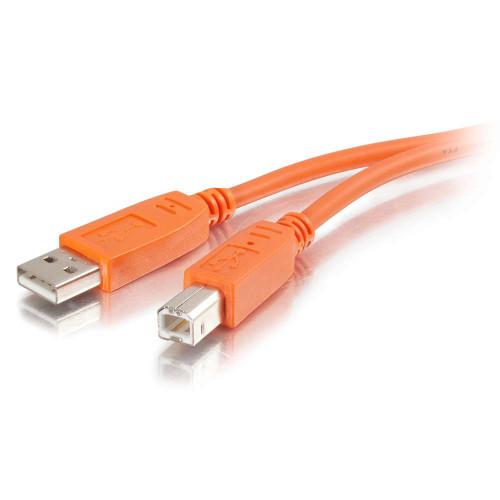 3m USB 2.0 A/B Cable - Orange