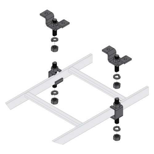 Middle Atlantic CLH-5/8CHK | Wall & Ceiling Mount Kits