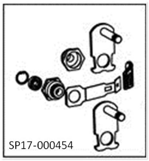 Belt, final drive, Z, 10 RIB-705, set of 2 (for new 2800
