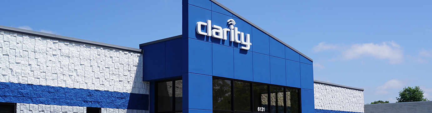 Photo of the Clarity headquarters building in Chattanooga, Tennessee.