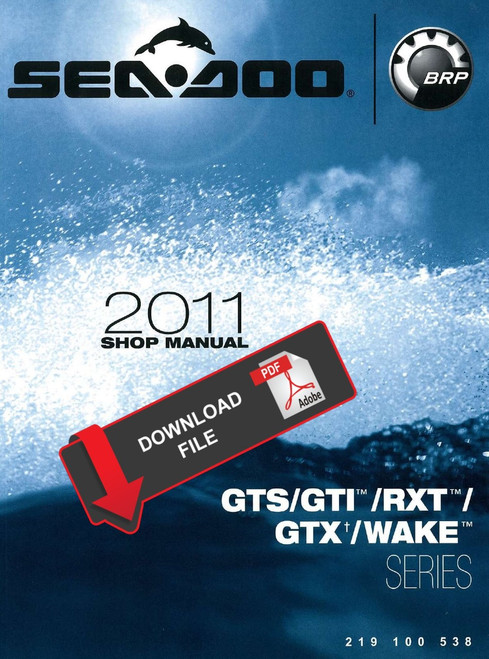 seadoo jet ski manuals