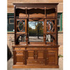 F17117 - Antique Late Victorian Mahogany Sideboard