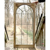 G18013 - Antique Cabinet Door with Leaded Glass