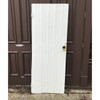 "D18049 -  Antique Painted Pine Rustic Plank Door 28-1/4"" x 73"""